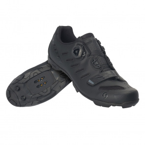 Scott textile Chaussures VTT Scott Team Boa Noir Mat/Noir Brillant 2020
