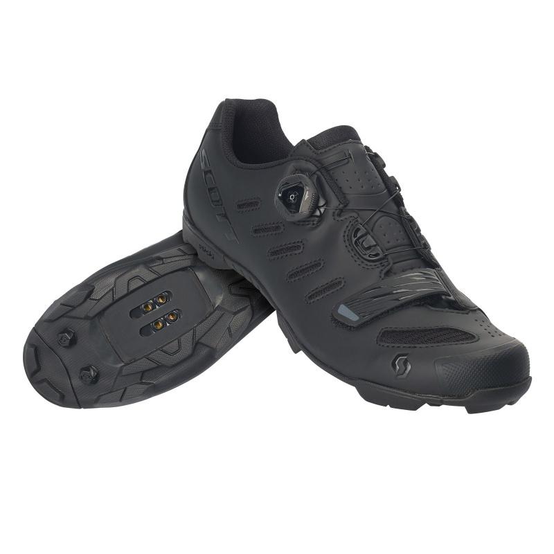 Chaussures VTT Scott Team Boa Noir Mat/Noir Brillant 2020