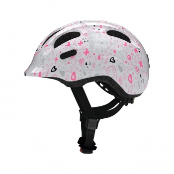 Abus Kids Smiley 2.1 Helm Crush Wit 2019
