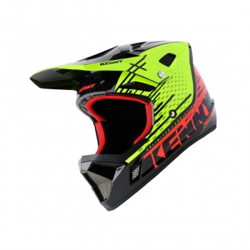 Kenny Decade Helm Neon Geel/Neon Rood 2020