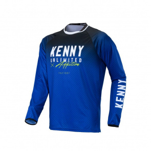 Kenny Maillot Manches Longues Kenny Factory Bleu 2020