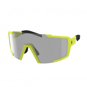 Scott textile Lunettes Scott Shield Light Sensitive Jaune Mat - Verre Gris 2020