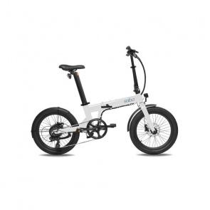 Vélo Electrique Pliable Eovolt Confort Blanc Nacré