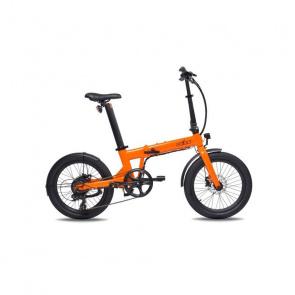 Vélo Electrique Pliable Eovolt Confort Orange Mat