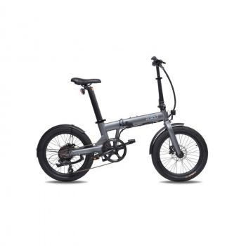 Vélo Electrique Pliable Eovolt Confort Gris Anthracite (EVO5-2)