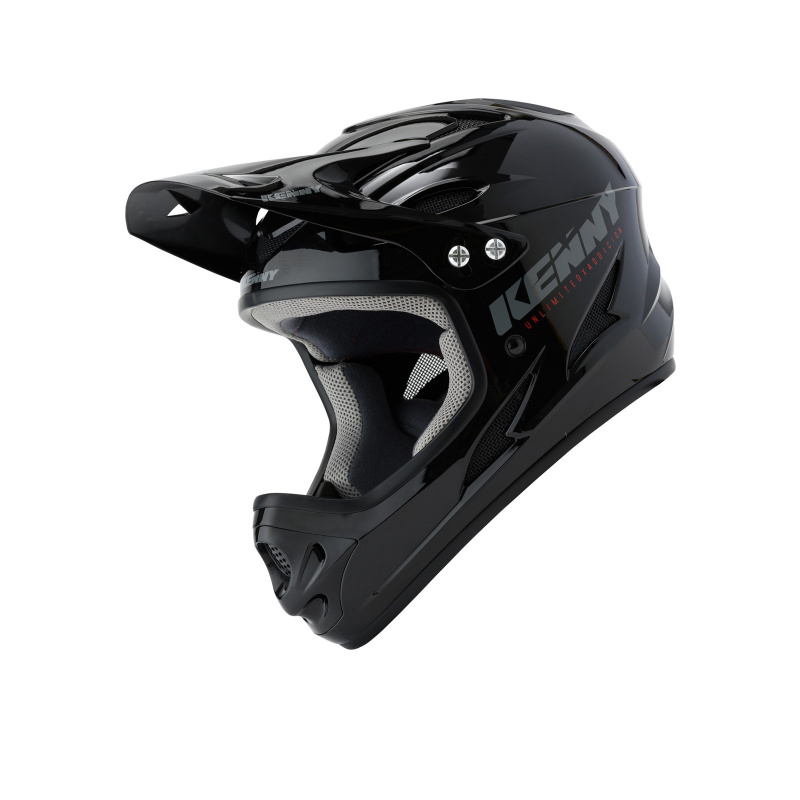 Casque Kenny Downhill Noir Solid 2020