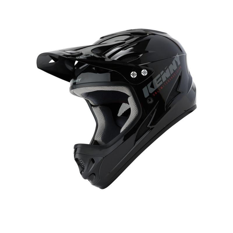 Kenny Downhill Helm Solid Zwart 2020
