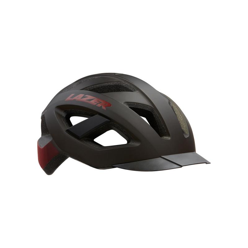 Lazer Cameleon Urban Helm Zwart/Rood 2020