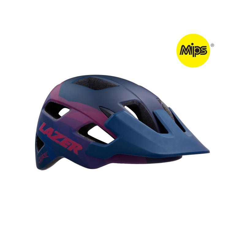 Lazer Chiru MIPS MTB Helm Blauw/Roze 2020