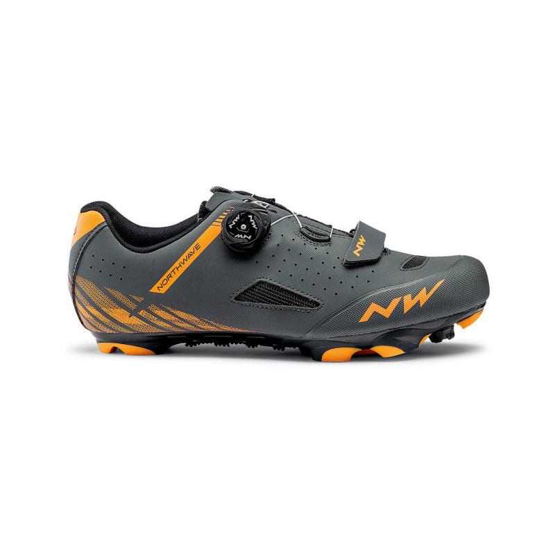 Chaussures VTT Northwave Origin Plus Anthracite/Orange 2020
