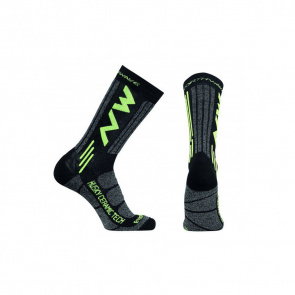Northwave Northwave Husky Ceramic Tech High 2 High Kousen Zwart/Fluo Geel 2019-2020