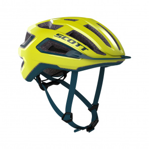 Scott textile Casque Scott Arx Jaune Radium 2020