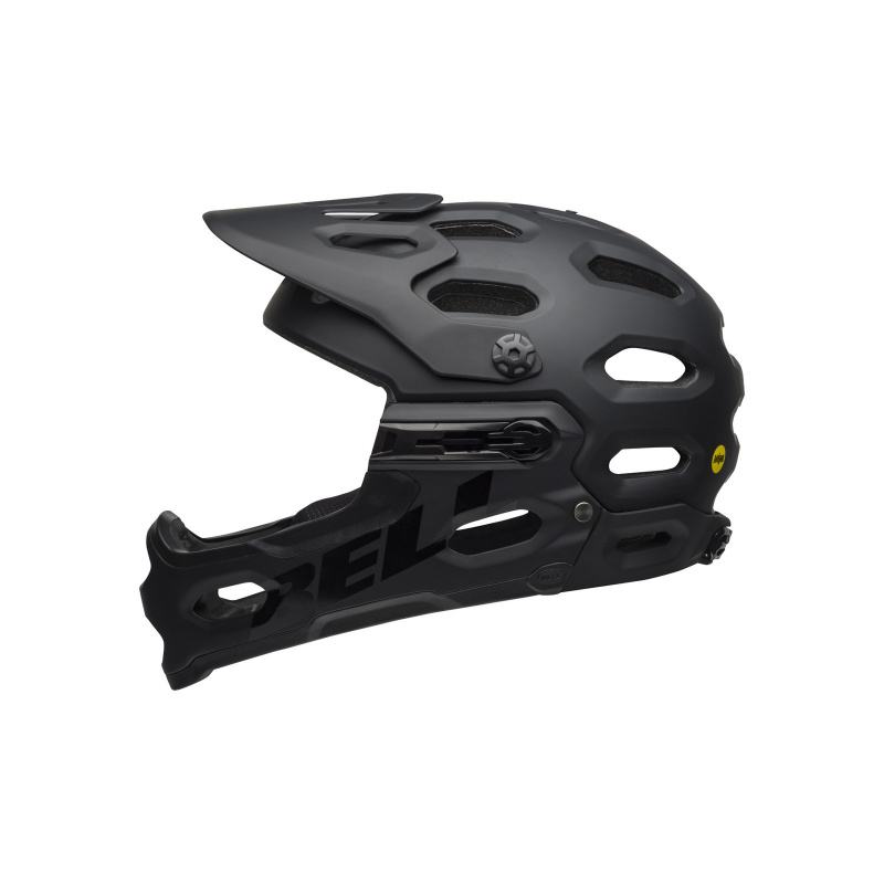 Casque Bell Super 3R Mips Noir Mat/Gris 2021 (210196)