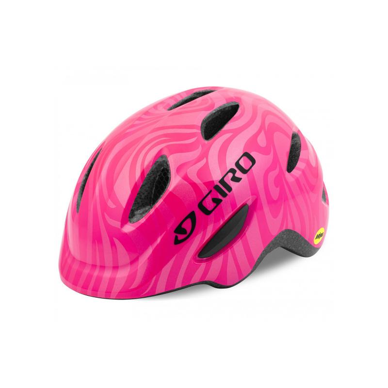 Casque Giro Junior Scamp Rose Perle 2021