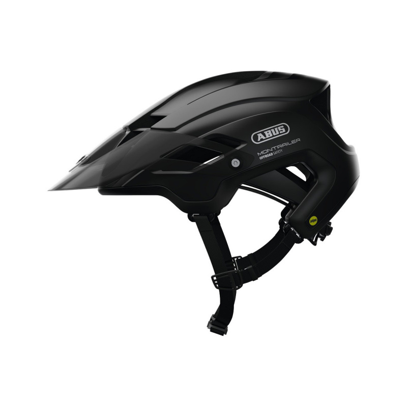 Abus Montrailer MIPS Helm Zwart 2020