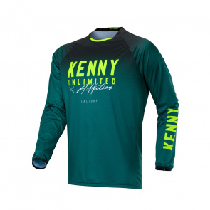 Kenny Maillot JUNIOR Manches Longues Factory Green 2020