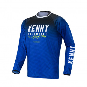 Kenny Maillot JUNIOR Manches Longues Factory Blue 2020