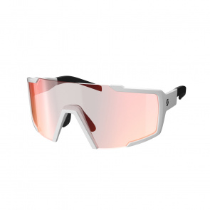 Scott textile Lunettes Scott Shield White/Red Chrome 2020