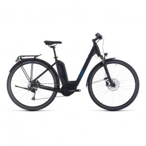 Cube 2020 Vélo Electrique Cube Touring Hybrid One 400 Easy Entry Noir/Bleu 2020 (331050)
