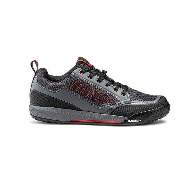 Chaussures VTT Clan Anthracite/Red 2021