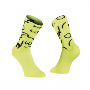 Northwave Chaussettes Vibe Yellow Fluo/Black 2020