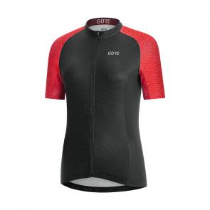 Gore Bike Wear Gore Wear C3 Shirt met Korte Mouwen voor Vrouwen Zwart/Roze 2020