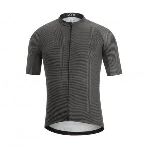 Gore Bike Wear Maillot Manches Courtes Gore Wear C3 Line Brand Noir/Graphite 2020