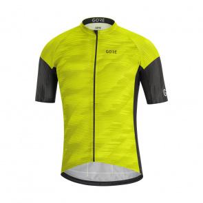 Gore Bike Wear Maillot Manches Courtes Gore Wear C3 Knit Vert/Noir 2020