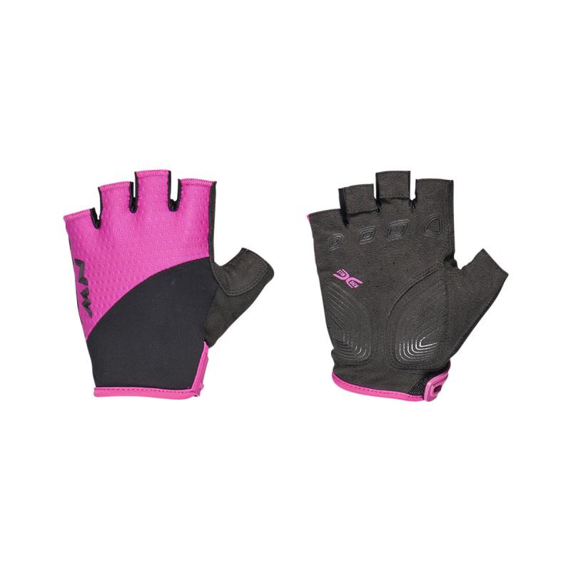 Northwave Swift Korte Handschoenen voor Vrouwen Fuchsia/Zwart 2020