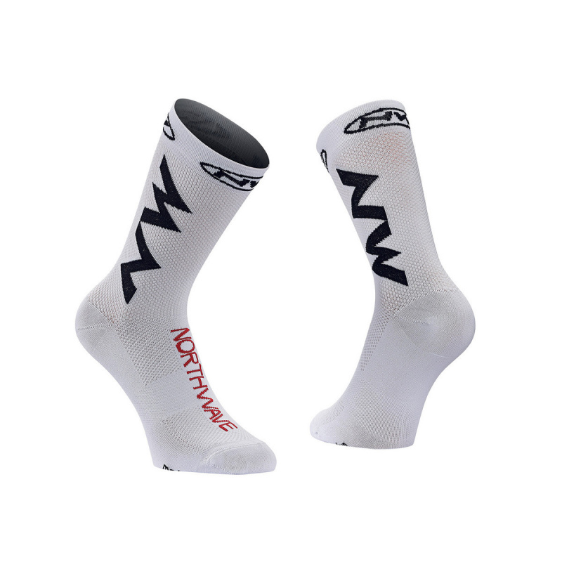 Chaussettes Extreme Air White/Black/Red 2020 (89182132-53)