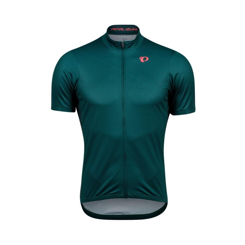 Pearl Izumi Select Ltd Shirt met Korte Mouwen Pine/Alpine Bevel 2020