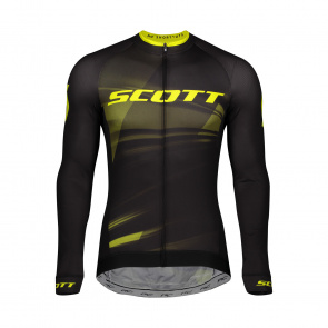 Scott textile Maillot ML RC Pro Black/Sulphur Yellow 2020