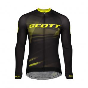 Scott textile Scott RC Pro Shirt met Lange Mouwen Zwart/Geel 2020