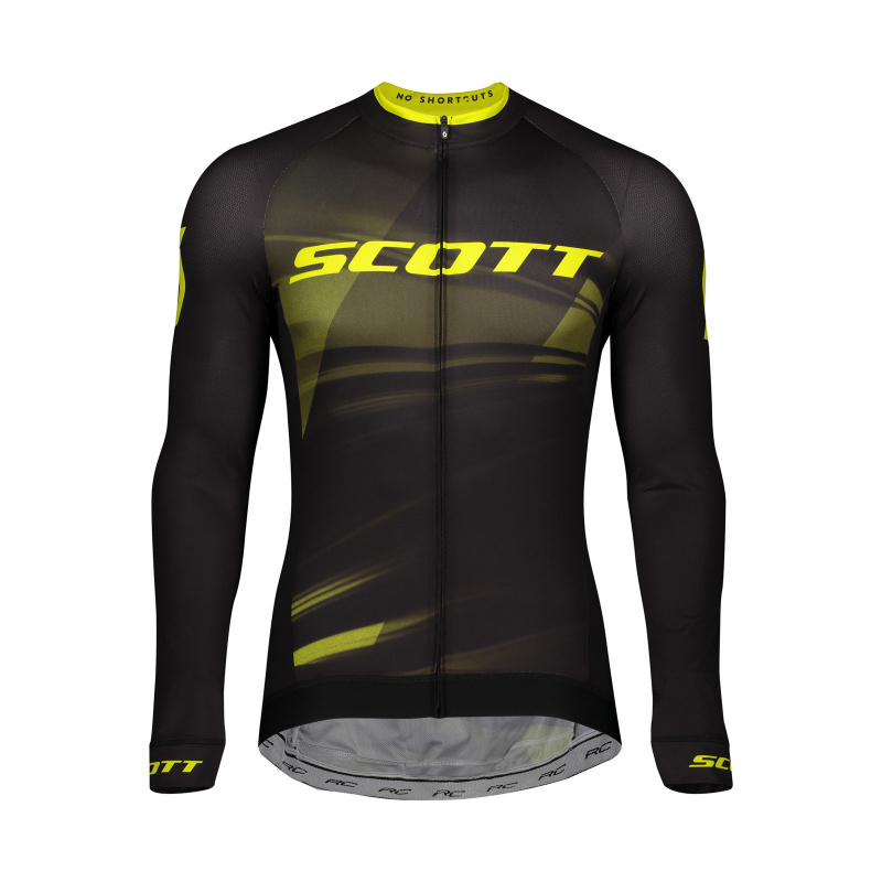 Maillot ML RC Pro Black/Sulphur Yellow 2020