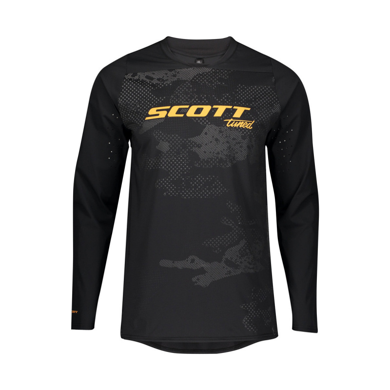 Maillot ML Trail Tuned Black 2020