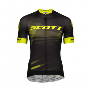 Scott textile Maillot MC RC Pro Black/Sulphur Yellow 2020