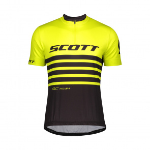 Scott textile Maillot MC RC Team 20 Sulphur Yellow/Black 2020