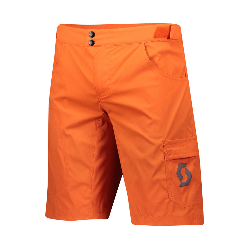 Scott Trail Flow Short met Zeem Oranje 2020