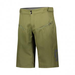 Scott textile Short Trail Vertic avec peau Green Moss 2020