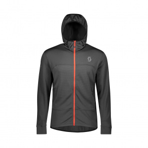 Scott textile Veste Trail MTN Fleece Hood Dark Grey 2020