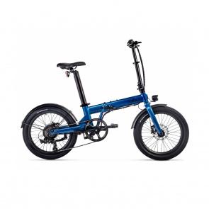 Vélo Electrique Pliable Eovolt Confort Bleu Saphir (EVO5-3)