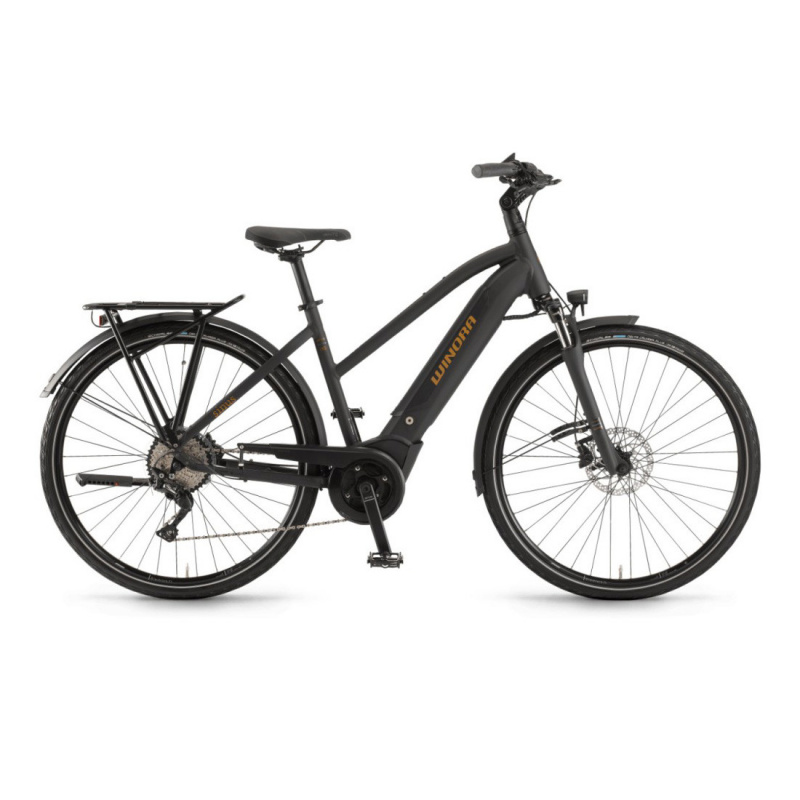 Vélo Electrique Winora Sinus i10 500 Trapèze Noir Mat 2020 (44261100) (4426110044)