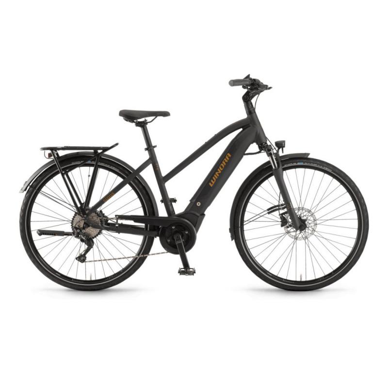 Vélo Electrique Winora Sinus i10 500 Trapèze Noir Mat 2021 (44261100) (4426110048)