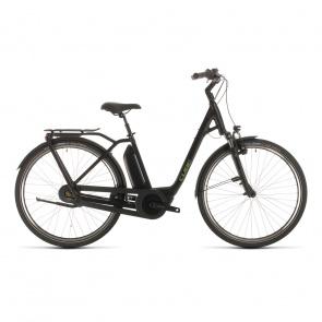 Cube 2020 Vélo Electrique Cube Town Hybrid Pro RT 500 Easy Entry Noir/Vert 2020 (332151)