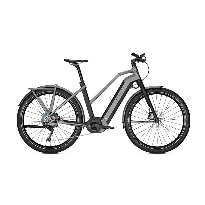 Vélo Electrique Kalkhoff Endeavour 7.B Pure 625 Trapèze Noir/Gris 2021 (637529005-7)  (637529007)