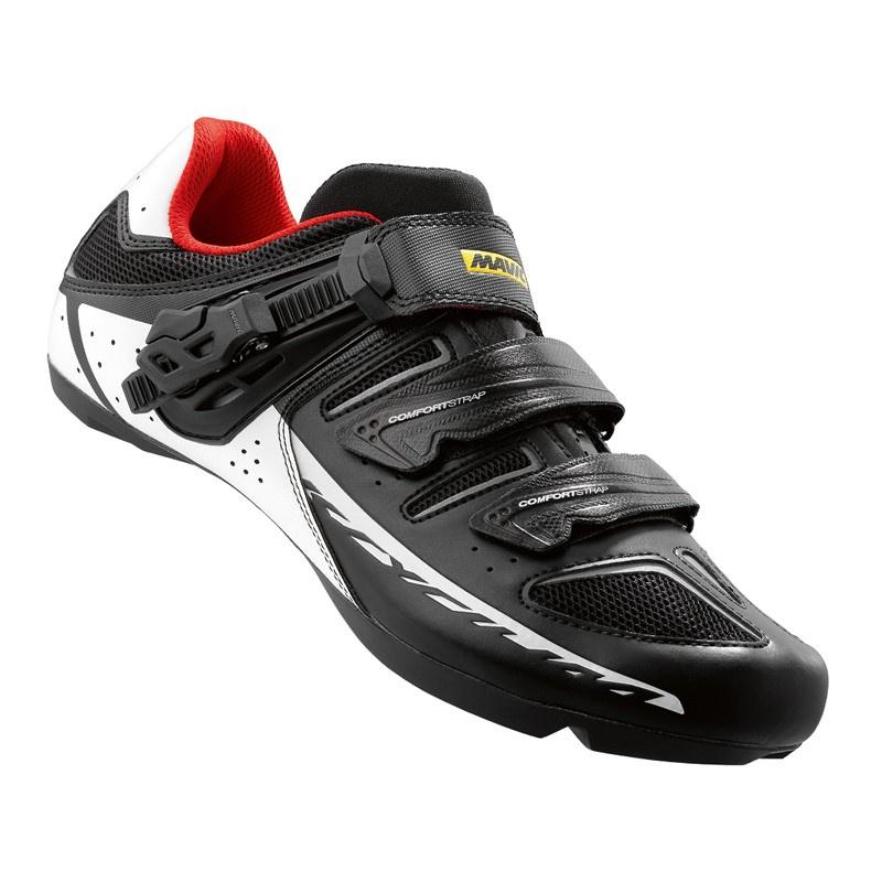 Chaussures Route Mavic Ksyrium Elite Tour Noir/Blanc/Rouge Racing