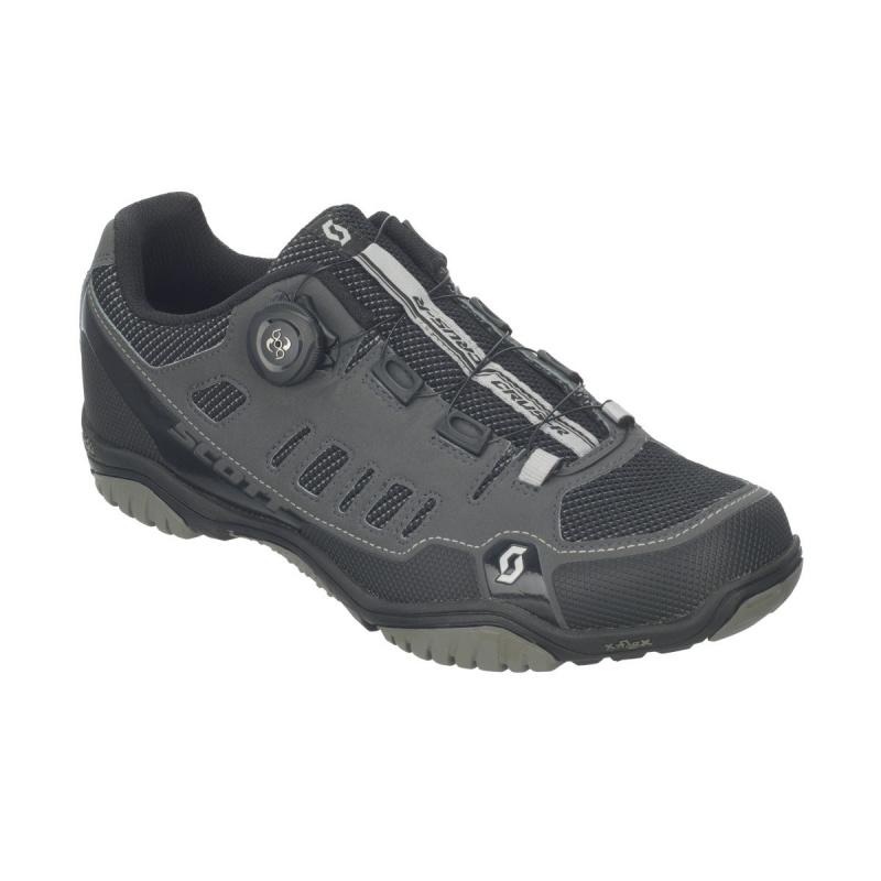 Chaussures VTT Scott Sport Crus-r Boa Anthracite/Rouge 2021