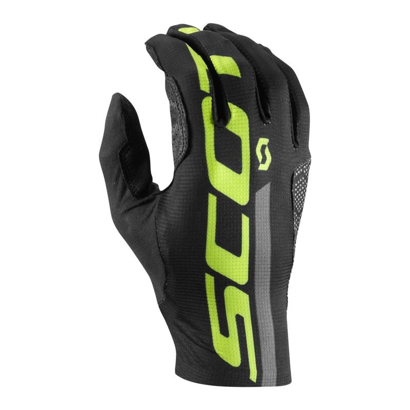 Scott RC Premium Protec LF Handschoenen Zwart/Geel 2017