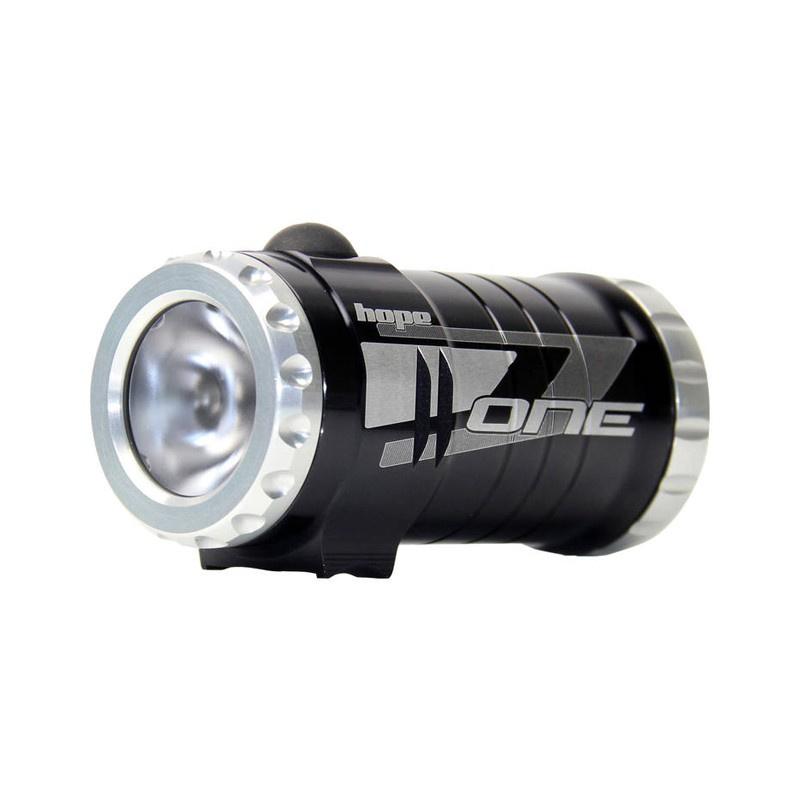 Eclairage Hope 1 Led Noir (4 piles rechargeables et 1 chargeur)