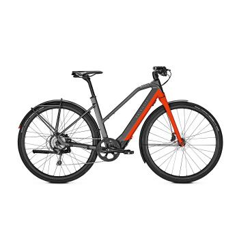 Vélo Electrique Kalkhoff Berleen 5.G Advance 252 Trapèze Gris/Rouge 2020 (637627015-7) (637627015)
